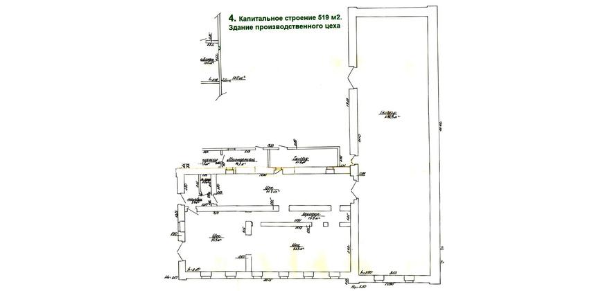 Здание (производство, склад)