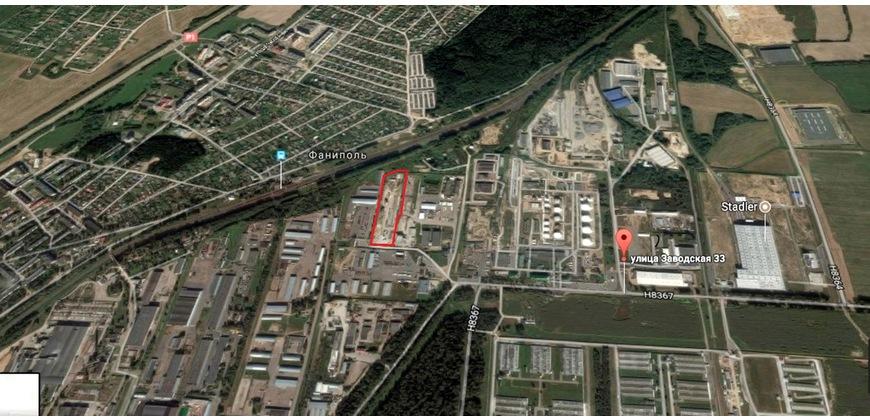 База производственная с зем. участком 2,3312 га