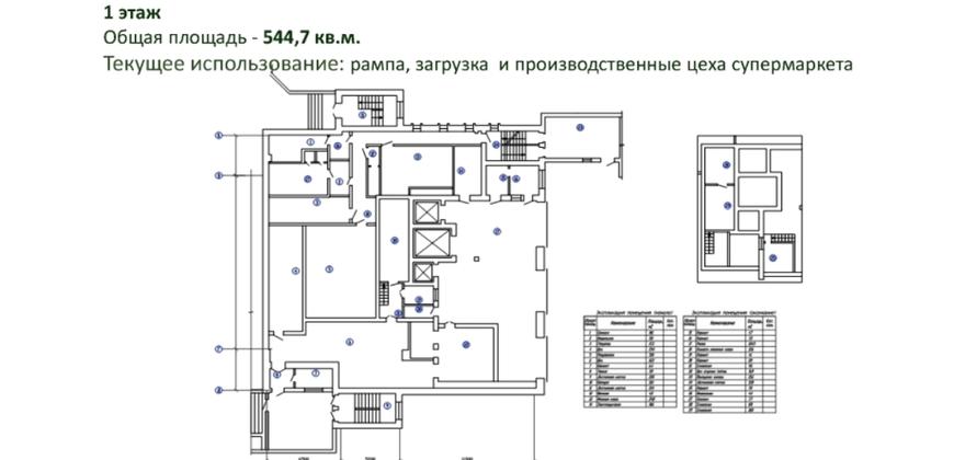 Здание торговли (универсам «Центральный»)
